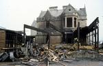 Inchyra Hotel damaged by fire.